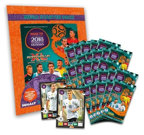 Road To FIFA World Cup Russia 2018 Adrenalyn XL - Bundle 2
