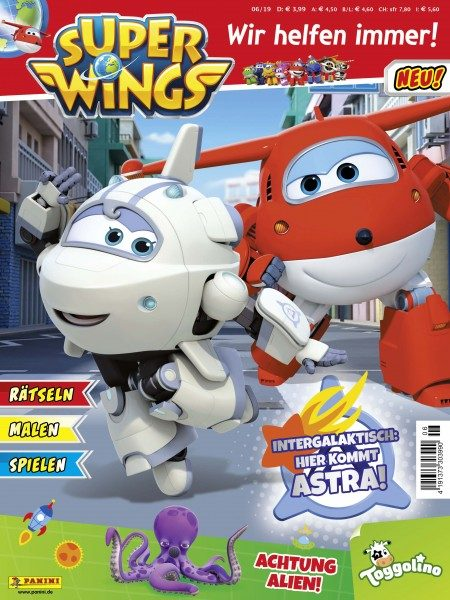 Super Wings 06/19 Cover