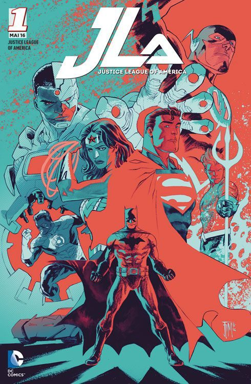 Justice League of America 1 (2016)...