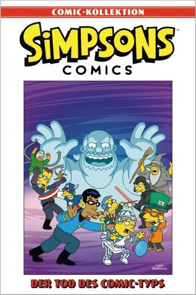 Simpsons Comic-Kollektion 24: Der Tod des Comic-Typs Cover