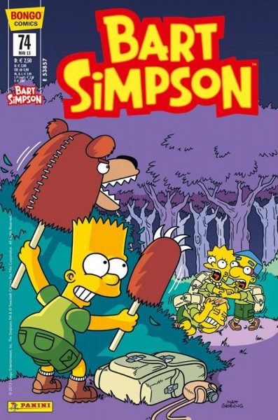 Bart Simpson Comics 74
