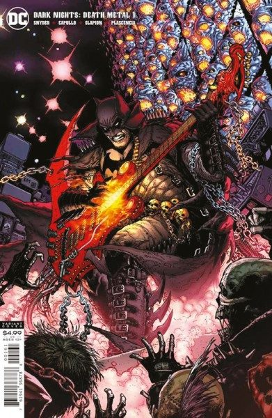 Batman - Death Metal 1 Variant B Cover