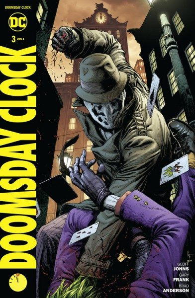 Doomsday Clock 3 Cover