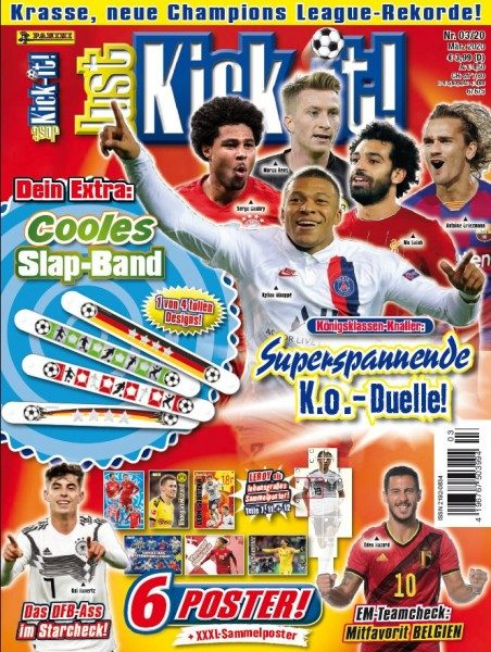 Just Kick-it! Magazin 03/20 Cover