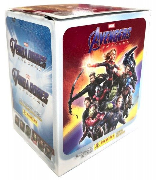 Road to Avengers Endgame - Sticker und Trading Cards - Box mit 50 Tüten