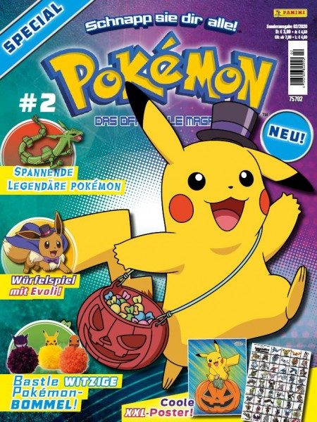 Pokémon Magazin Special 02/20 Cover