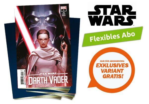 Flexibles Abo Star Wars Heftserie inklusive Variant