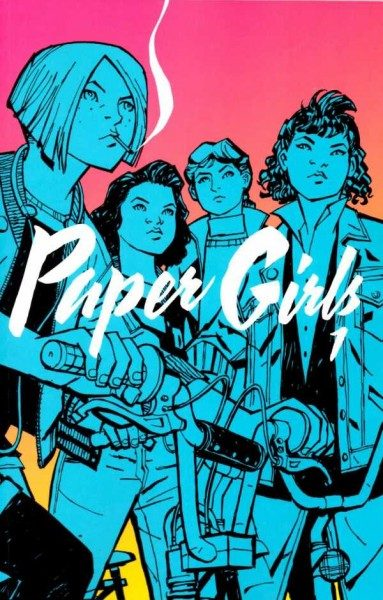 Paper Girls 1 Cover