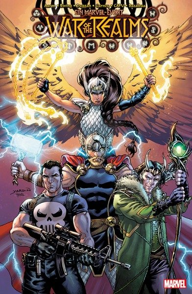 War of the Realms 5 Variant Cover