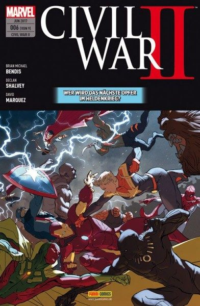 Civil War II Band 6