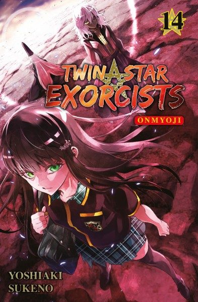 Twin Star Exorcists - Onmyoji 14 Cover