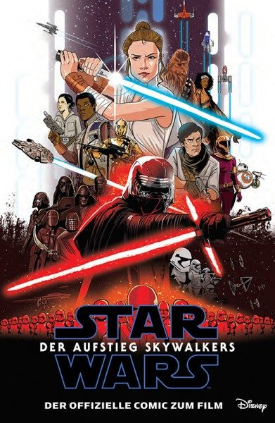 Star Wars Episode 9 - Der Aufstieg Skywalkers Cover