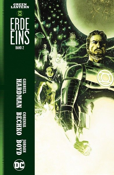 Green Lantern - Erde Eins - Band 2 Cover