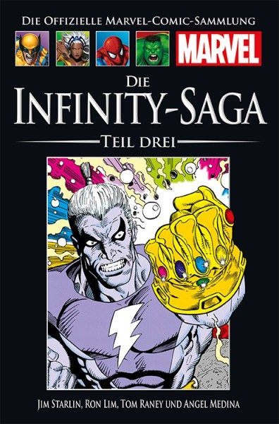 Hachette Marvel Collection 176 - Die Infinity-Saga, Teil III Cover