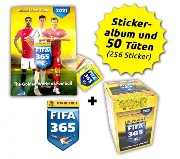 Panini FIFA 365 Stickerkollektion 2021 - Box-Bundle