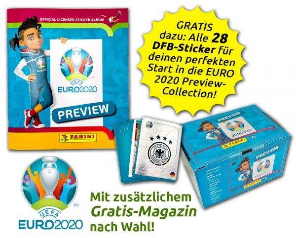 UEFA EURO 2020™ Stickerkollektion - Official Preview Collection - DFB Collector's Bundle