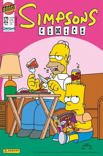 Simpsons Comics 172
