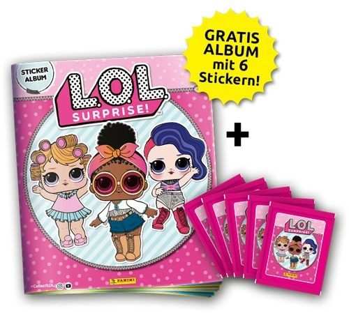 L.O.L. Surprise Stickerkollektion - Bundle 2