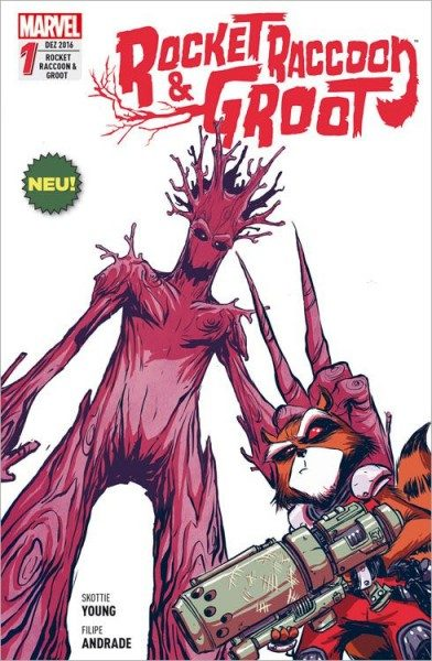 Rocket Raccoon & Groot 1 Cover