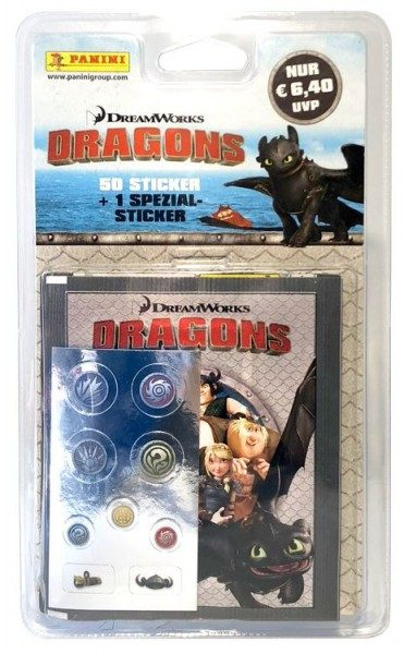 Dragons - Stickerkollektion - Blister