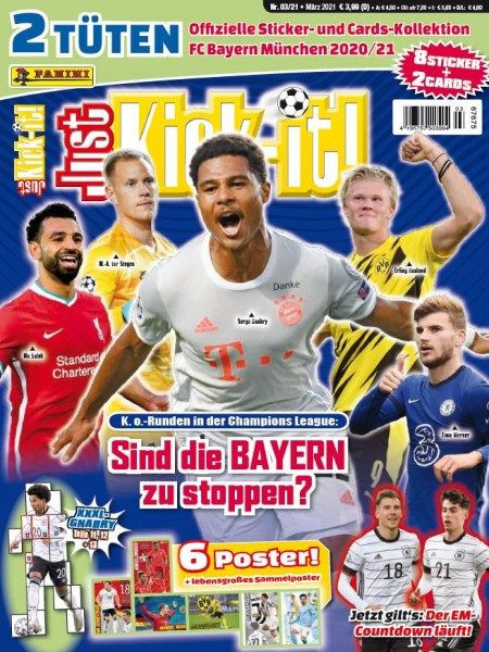 Just Kick-it! Magazin 03/21 Cover