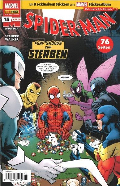 Spider-Man 15 Cover