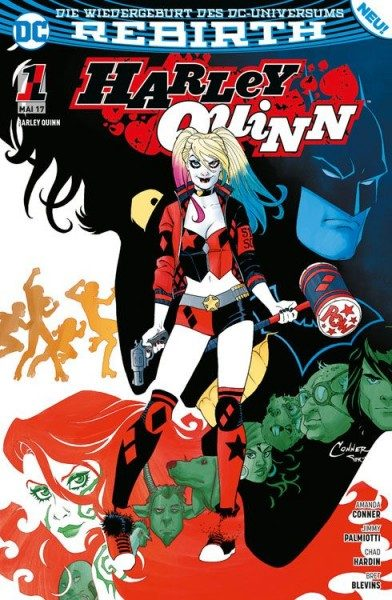 Harley Quinn 1: Zombie-Attacke Cover