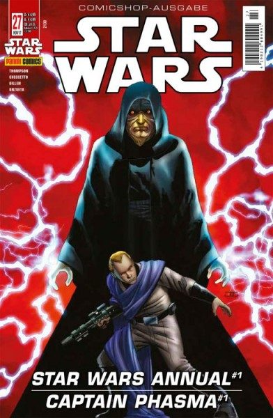 Star Wars 27 - Captain Phasma 1 / Star Wars Annual 1 - Comicshop-Ausgabe