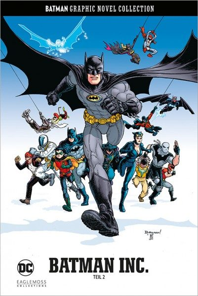 Batman Graphic Novel Collection 64 - Batman Incorporated 2 Cover