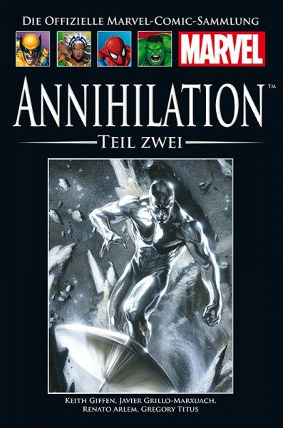 Hachette Marvel Collection 209 - Annihilation, Teil II Cover