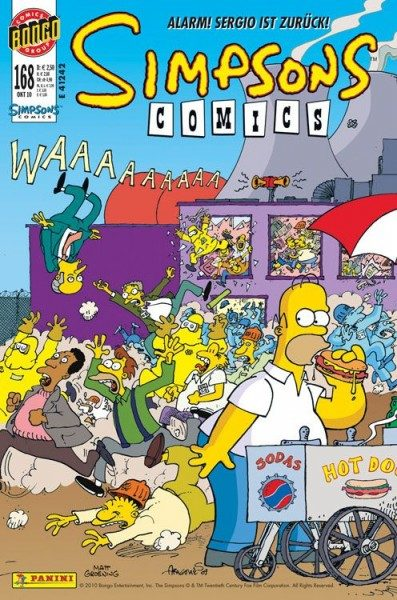 Simpsons Comics 168