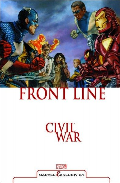 Marvel Exklusiv 67 - Civil War - Front Line 1
