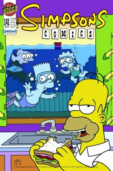 Simpsons Comics 141