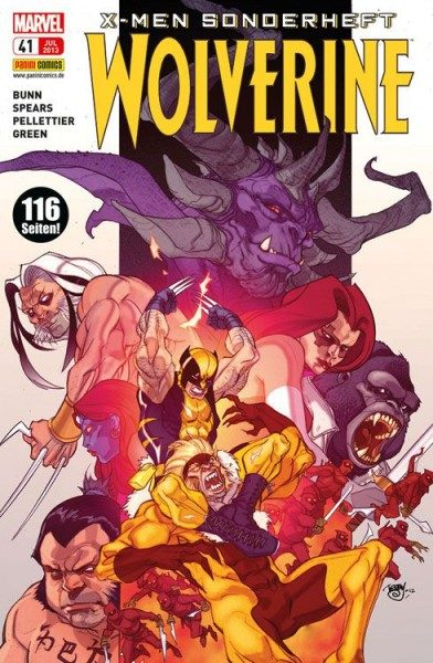 X-Men Sonderheft 41 - Wolverine