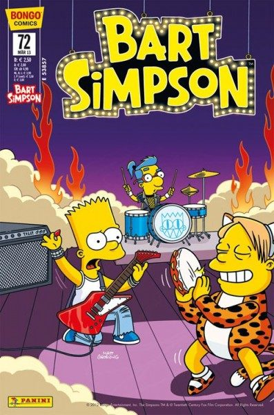 Bart Simpson Comics 72