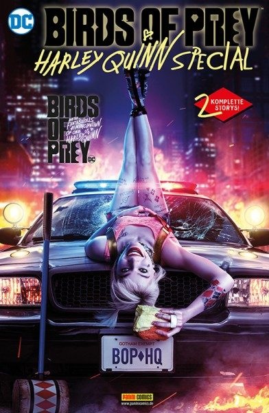 Birds of Prey - Harley Quinn Special Cover