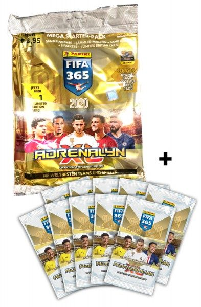 Panini FIFA 365 Adrenalyn XL 2020 Kollektion – Starter-Bundle 1