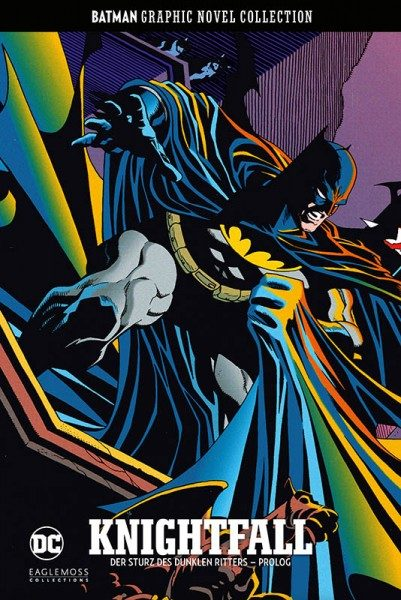 Batman Graphic Novel Collection 39 Knightfall - Der Sturz des Dunklen Ritters Prolog Cover