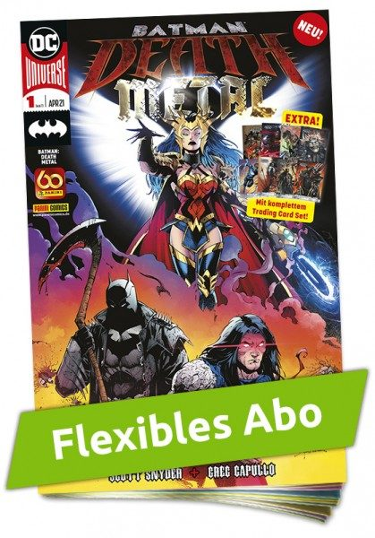 Flexibles Abo - Batman - Death Metal Heft