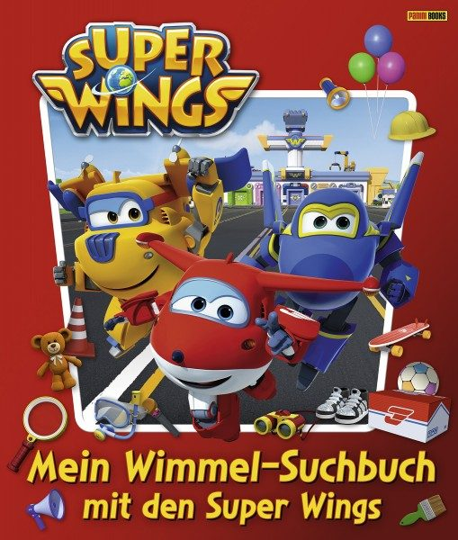 Super Wings - Mein Wimmel-Suchbuch mit den Super Wings Cover