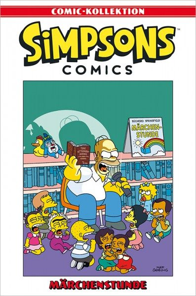 Simpsons Comic-Kollektion 65: Märchenstunde Cover