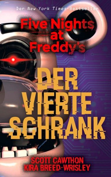 Five Nights at Freddys 3 - Der Vierte Schrank Cover