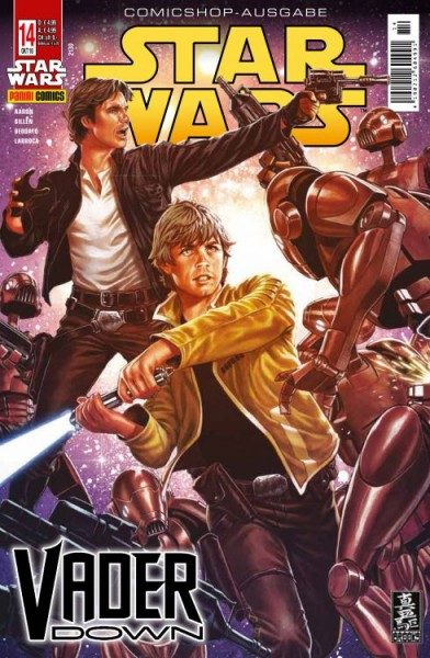 Star Wars 14 - Vader Down 2 - Comicshop-Ausgabe Cover