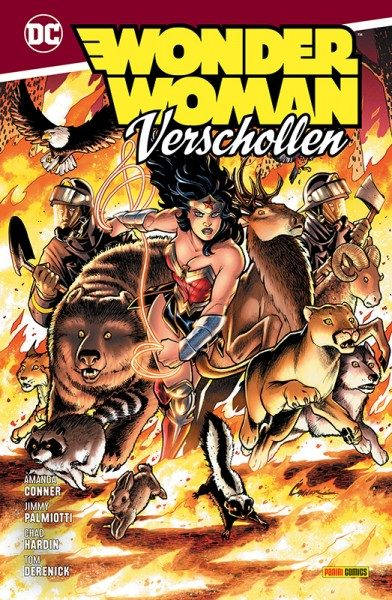 Wonder Woman: Verschollen Cover