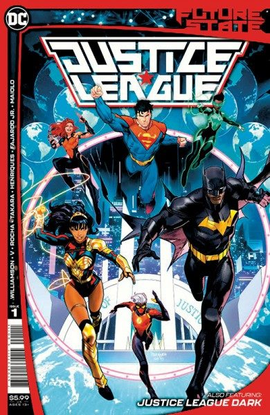 Justice League 32 - Future State Cover