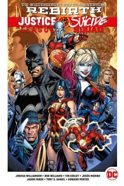 Justice League vs. Suicide Squad Hardcover