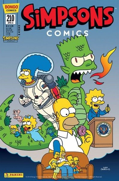 Simpsons Comics 210