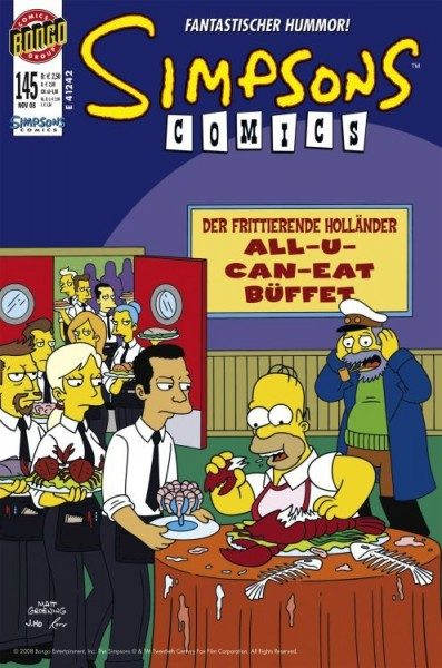 Simpsons Comics 145