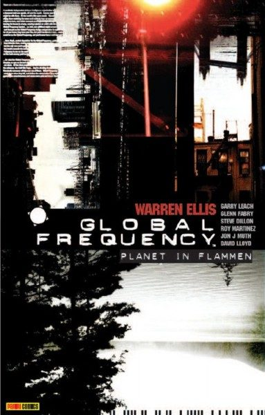 Global Frequency 1 - Planet in Flammen