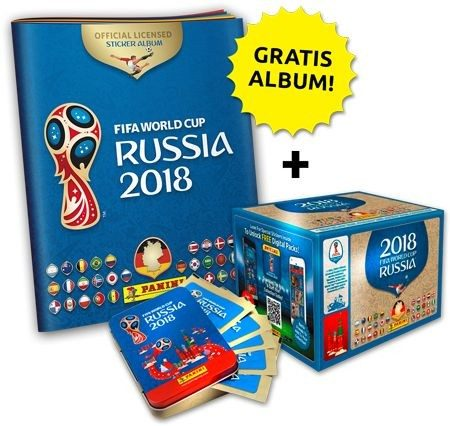 2018 FIFA World Cup Russia Stickerkollektion – Box Megabundle